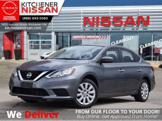 Used 2016 Nissan Sentra 1.8 S   - 1 OWNER | OFF LEASE | BLUETOOTH for sale in Kitchener, ON
