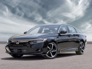 New 2021 Honda Accord Sedan Sport for sale in Corner Brook, NL