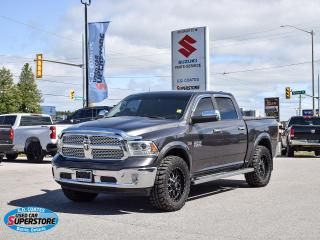 Used 2014 RAM 1500 Laramie Crew Cab 4x4 ~Nav ~Cam ~Heated Leather for sale in Barrie, ON
