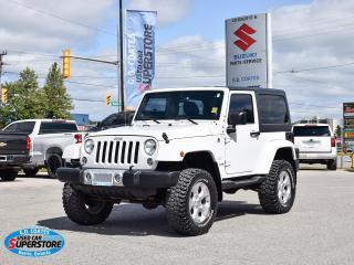 Used 2014 Jeep Wrangler Sahara 4x4 ~Nav ~Bluetooth ~Fog Lamps ~A/C ~Alloys for sale in Barrie, ON