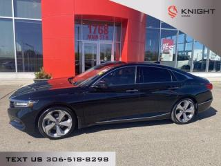 Used 2019 Honda Accord Sedan Touring l Local Trade l Leather l Heated/Cooled seats for sale in Moose Jaw, SK