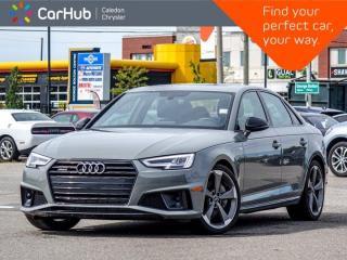 Used 2019 Audi A4 Sedan Progressiv Quattro Navigation Panoramic Sunroof Bluetooth Backup Cam Heated Front Seats 19