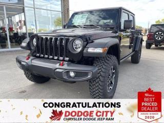 New 2021 Jeep Gladiator Rubicon- 4WD, Nav, Remote Start, Htd.Seats/Wheel for sale in Saskatoon, SK