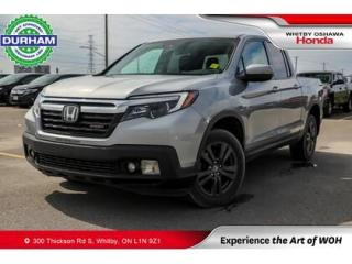 Used 2018 Honda Ridgeline Sport | Automatic | Power Moonroof for sale in Whitby, ON