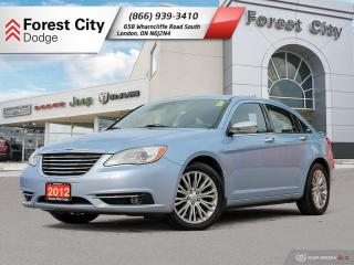 Used 2012 Chrysler 200 Limited LIMI for sale in London, ON