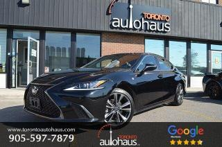 Used 2019 Lexus ES 350 F-SPORT I CARPLAY NAVIGATION I LEATHER I ROOF for sale in Concord, ON