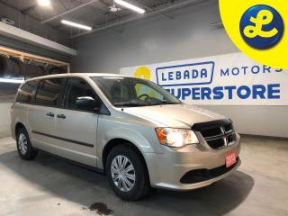 Used 2013 Dodge Grand Caravan SE * Cruise Control * Steering Wheel Controls * AM/FM/CD/Aux * Heated Mirrors * Automatic Drivers Window * 12V DC Outlet * 3.6L V6 * 6-Speed Automatic for sale in Cambridge, ON