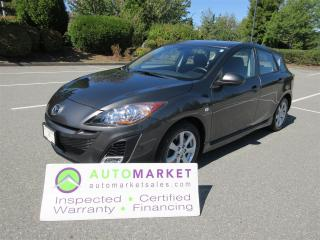 Used 2010 Mazda MAZDA3 SPORT, SUNROOF,2.5, B/TOOTH,  AUTO, INSP, WARR, FINANCE! for sale in Surrey, BC