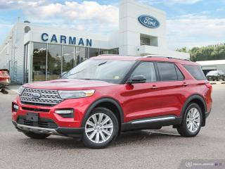 New 2021 Ford Explorer LIMITED for sale in Carman, MB