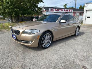Used 2011 BMW 5 Series 535i xDrive/Leather/Roof/Navi/Comes Certifed for sale in Scarborough, ON