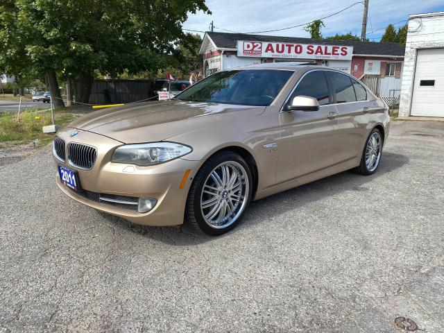 2011 BMW 5 Series 535i xDrive/Leather/Roof/Navi/Comes Certifed
