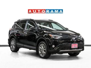 Used 2016 Toyota RAV4 Limited AWD Nav Leather Sunroof Backup Cam for sale in Toronto, ON