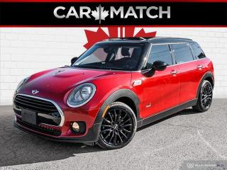 Used 2018 MINI Cooper Clubman ALL4 / LEATHER / NAV / ROOF / NO ACCIDENTS for sale in Cambridge, ON