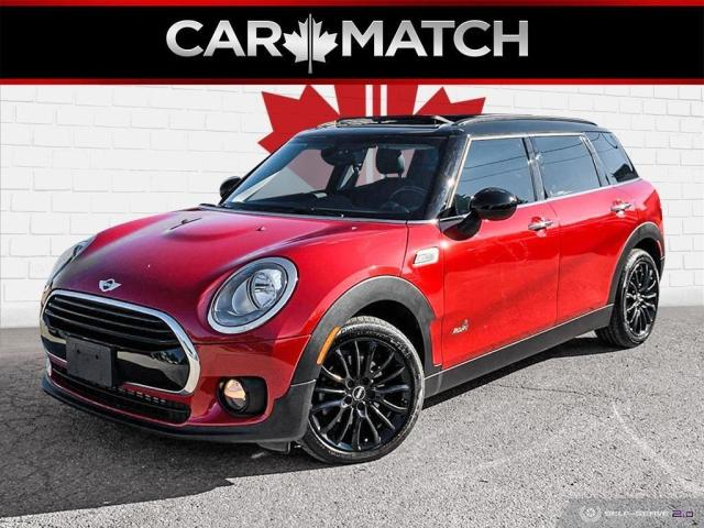 2018 MINI Cooper Clubman ALL4 / LEATHER / NAV / ROOF / NO ACCIDENTS