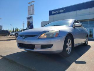 Used 2005 Honda Accord Cpe EX V6/SUNROOF/LEATHER/AUTO/HEATEDSEATS for sale in Edmonton, AB