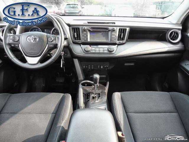 2017 Toyota RAV4 XLE MODEL, SUNROOF, REARVIEW CAMERA, HEATED SEATS Photo12