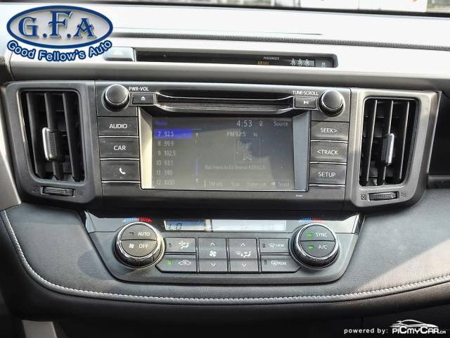 2017 Toyota RAV4 XLE MODEL, SUNROOF, REARVIEW CAMERA, HEATED SEATS Photo14