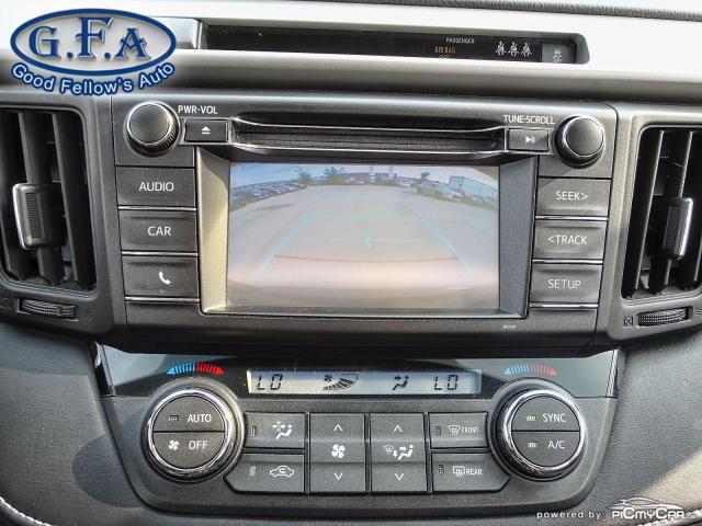 2017 Toyota RAV4 XLE MODEL, SUNROOF, REARVIEW CAMERA, HEATED SEATS Photo19