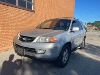 Used 2002 Acura MDX LEATHER /SUNROOF/7 PASSENGERS for sale in Oakville, ON