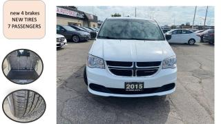Used 2015 Dodge Grand Caravan AUTO SAFETY 7SEATS A/C PW PL PM NEW BRAKES for sale in Oakville, ON