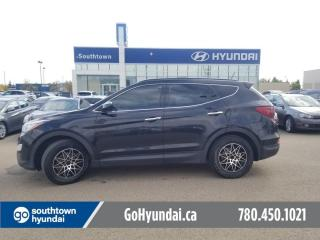 Used 2016 Hyundai Santa Fe Sport LIMITED/NAVI/LEATHER/PANO ROOF/HEATED STEERING for sale in Edmonton, AB