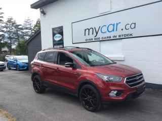 Used 2017 Ford Escape Titanium ALLOYS. NAV. SUNROOF. BACKUP CAM. HEATED SEATS. for sale in Richmond, ON
