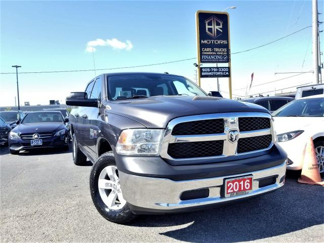 2016 RAM 1500 No Accidents|1Owner| 4WD CrewCab ST | Certified