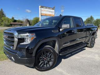 Used 2020 GMC Sierra 1500 2.7L Crew Cab 6.6 Box 4x4! BackupCam, CarPlay/Android, 8-Speed Transmission, Pwr Windows, Cruise, Ai for sale in Kemptville, ON