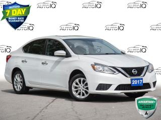 Used 2017 Nissan Sentra 1.8 S CLEAN CARFAX | POWER WINDOWS | KEYLESS ENTRY for sale in St Catharines, ON