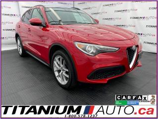 Used 2018 Alfa Romeo Stelvio 2.99% FINANCING Ti Sport+GPS+Adaptive Cruise+Lane for sale in London, ON