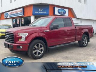 Used 2015 Ford F-150 4WD SuperCab 163 XLT/PRISTINE/PRICED-QUICK SALE for sale in Brantford, ON