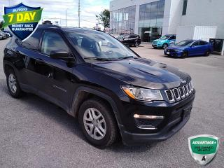 Used 2018 Jeep Compass Sport | CLEAN CARFAX | 4X2 | MANUAL | REAR CAMERA | for sale in Barrie, ON