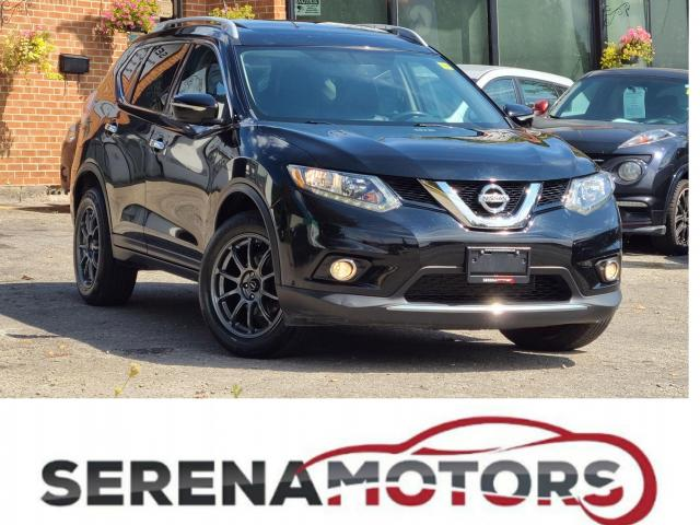 2014 Nissan Rogue SL   AWD   PANOROOF   LEAHTER   B. CAM   NO ACCID.
