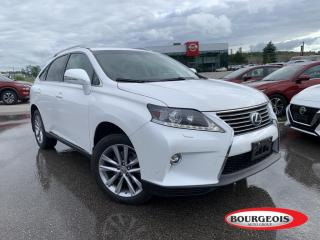 Used 2015 Lexus RX 350 Sportdesign NAVIGATION. REVERSE CAMERA, MOONROOF for sale in Midland, ON