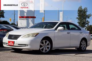 Used 2007 Lexus ES 350 ES350, SUNROOF, HEATED AND COOLED SEATS, KEYLESS ENTRY, AS-TRADED for sale in Orangeville, ON