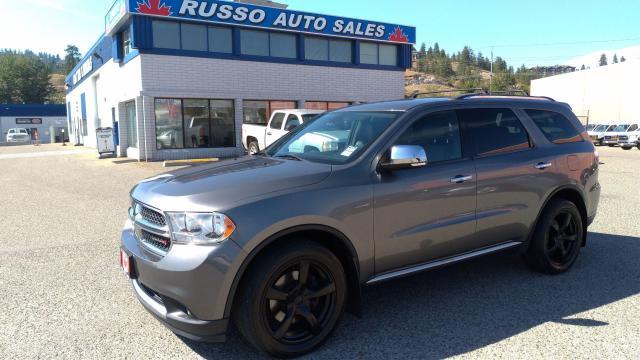 2012 Dodge Durango Crew Plus, AWD, 7 Passenger