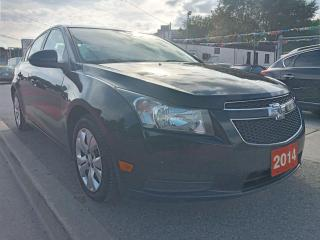 Used 2014 Chevrolet Cruze 1LT-EXTRA CLEAN-ONLY 102K-BLUETOOTH-AUX-USB for sale in Scarborough, ON