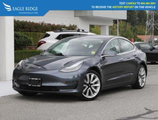 Used 2020 Tesla Model 3 Standard Range Heated Seats, Leather Upholstery for sale in Coquitlam, BC