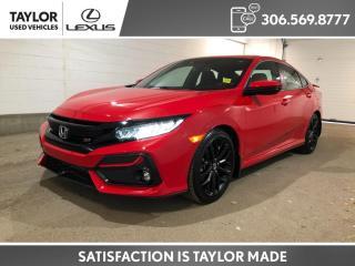 Used 2020 Honda Civic SI for sale in Regina, SK