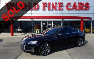 Used 2018 Audi S5 3.0T Technik | *1-Owner* | CLEAN | 350 HP! for sale in Etobicoke, ON