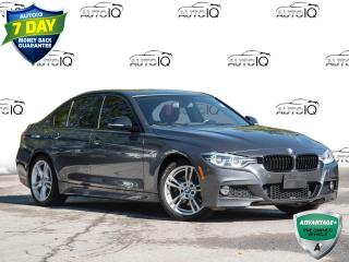 Used 2018 BMW 330e Clean Car Fax Report   |   Coral Red Leather   |   Hybrid! for sale in St Catharines, ON