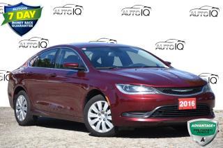 Used 2016 Chrysler 200 LX UCONNECT | BACK-UP CAMERA | VALUE! for sale in Kitchener, ON