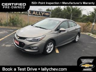 Used 2018 Chevrolet Cruze LT Auto LT TURBO**LOCAL TRADE**ONE OWNER**HEATED SEATS**TO for sale in Tilbury, ON