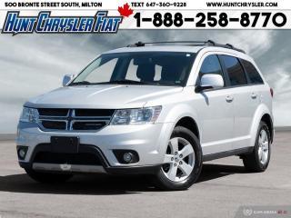 Used 2012 Dodge Journey SXT | V6 | 5 PASS | UCONN | RMT STRT | PWR DR ST & for sale in Milton, ON