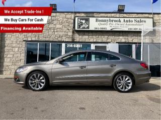 Used 2010 Volkswagen Passat CC Highline 4Motion/Navigation/Sunroof/Leather/low Km for sale in Calgary, AB