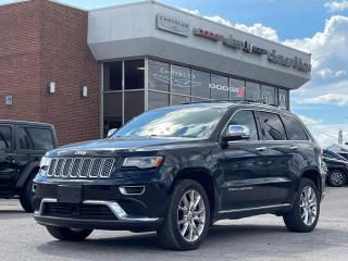 Used 2015 Jeep Grand Cherokee Summit DIESEL/DVD/FULL SUNROOF for sale in Concord, ON