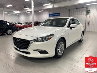 Used 2017 Mazda MAZDA3 GS - CAMERA + S. CHAUFFANTS + FINANCEMENT FACILE ! for sale in Saint-Eustache, QC