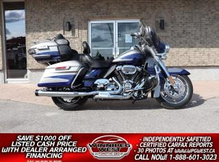 Used 2017 Harley-Davidson FLHT KSE CVO Limited SCREAMIN EAGLE M8 *STUNNING/MUST SEE* ONLY 6K KMS! for sale in Headingley, MB
