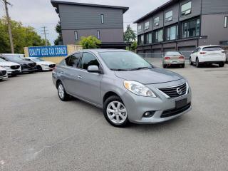 Used 2014 Nissan Versa Sedan 1.6 SL CVT for sale in Burnaby, BC