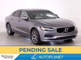 Used 2017 Volvo S90 T6 AWD Momentum, Navi, 360 Cam, Sunroof! for sale in Brampton, ON